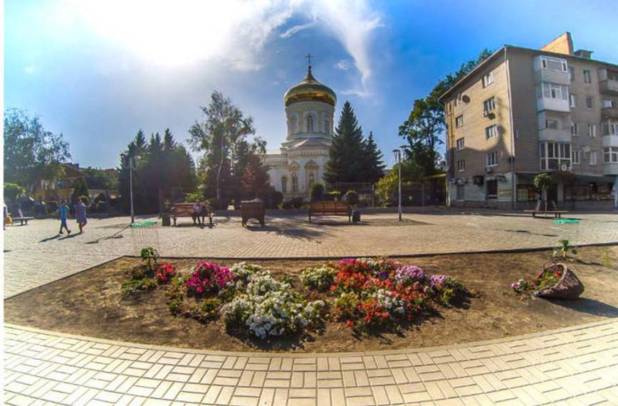 Павлоград площадь - фото