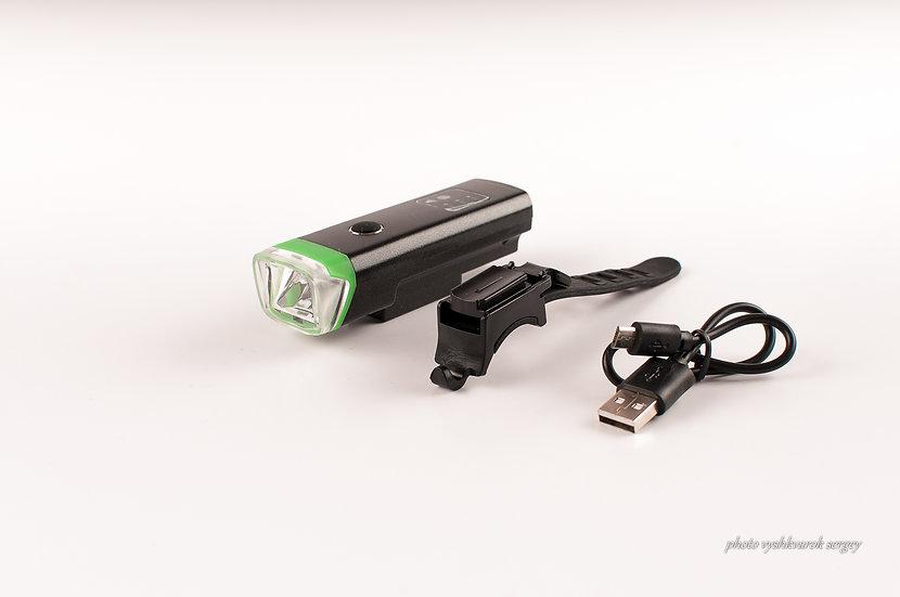 Фара велосипедная Cree T6 USB LiON-фото 1