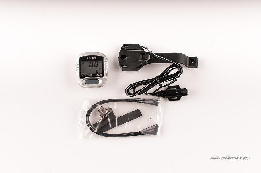 Велокомпьютер проводной ASSIZE AS-405-фото 1