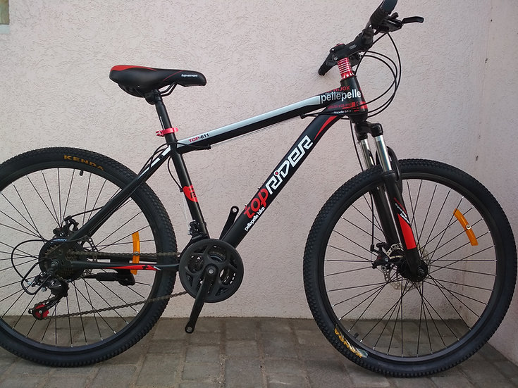 """26""""TOP RIDER 611 Red фото 1"""