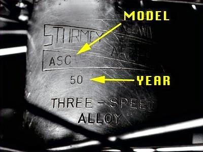 Планетарные втулки Sturmey Archer. История.