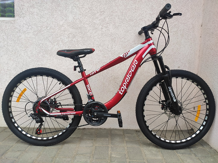 """24""""TOP RIDER 550 Red - фото 1"""