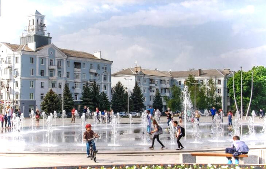 Площадь Краматорск фото