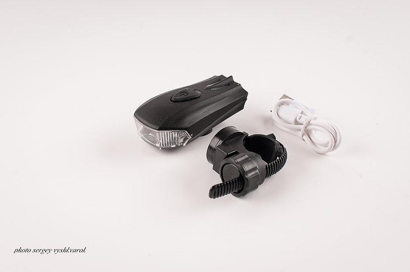 Фара велосипедная LiPo\USB\400 Lumens фото 1