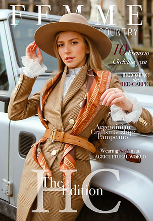Spring Issue 21 Cover Femme Country Maga