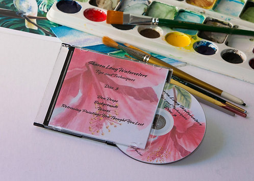 Watercolor Painting Lessons DVD #3