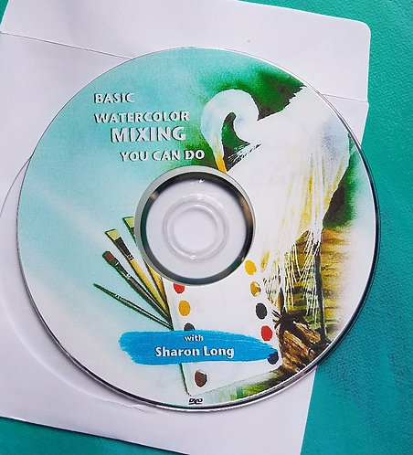 Forming A Foundation of Basic Color Mixing DVD