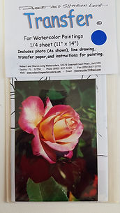 Yellow and Pink Rose Instructions #14