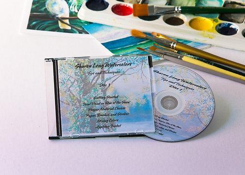 Watercolor Lesson DVD #1