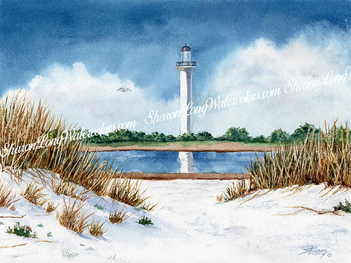 """Mississippi Light"" Original Watercolor"