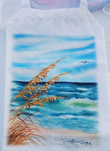 Chef's Apron with Sea Oats