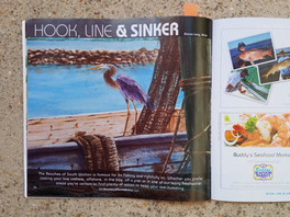 Two of Sharon Long's Original Paintings Chosen for Beaches of South Walton Magazine!