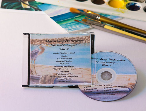 Watercolor Lesson Painting DVD #2