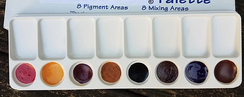 Foundation Color Mixing Palette