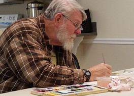 Learn to Paint in Watercolor! Join us daily for watercolor classes in Destin, FL.