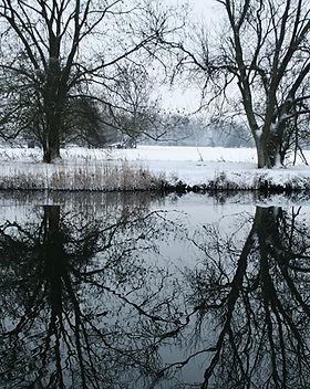 flux de neige