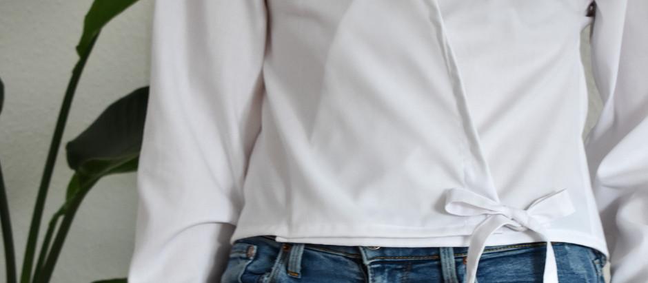 Upcycling guide: fra herreskjorte til slå om bluse