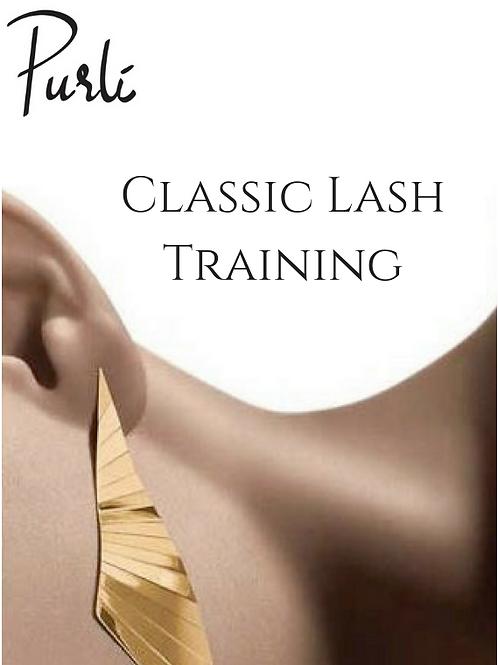 Classic Lash Training
