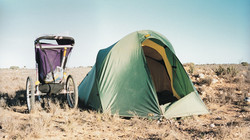 Camping out on the Nullarbor