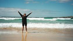 I walked across Australia!