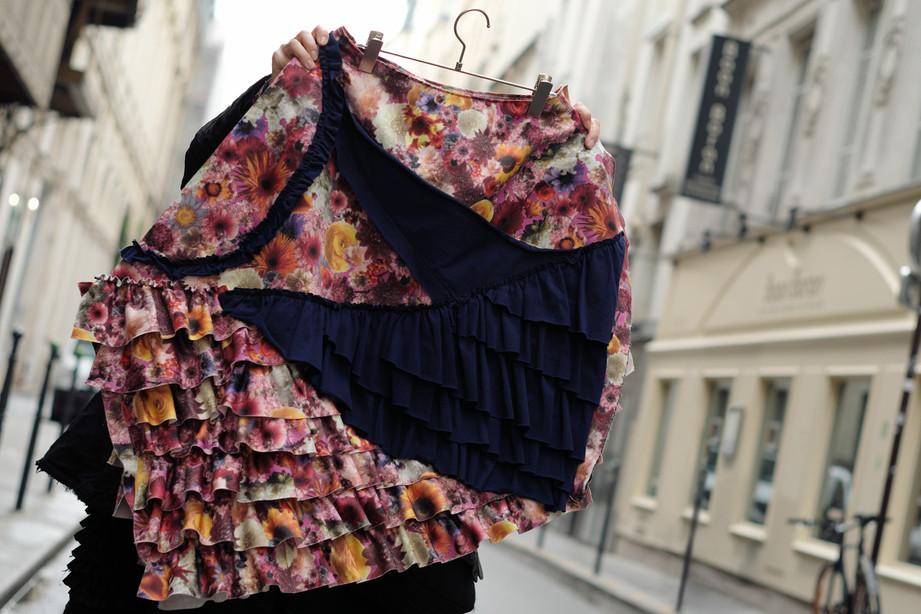 Bloom Print Skirt