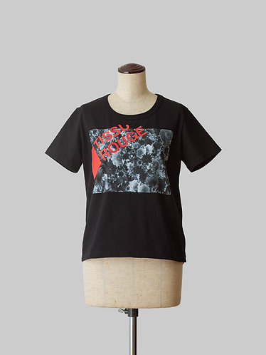 Bloom Print T-Shirt 2 Black HOMME