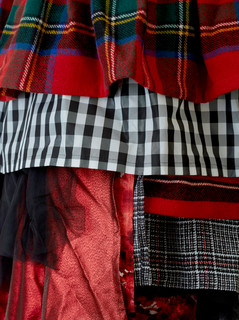 Multi Layered Wrap Skirt