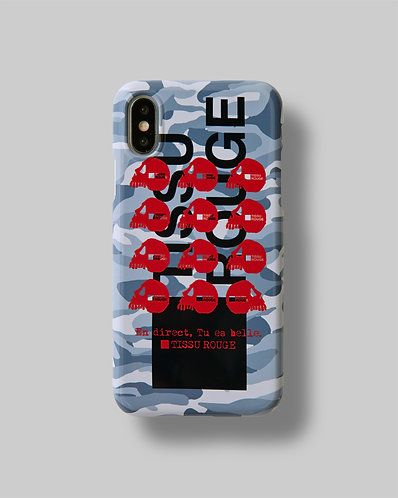 "iPhone CASE Ver.""Camouflage"" Gray"