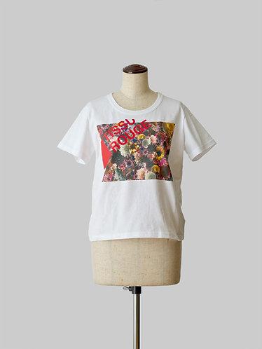 Bloom Print T-Shirt 2 White