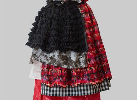 Multi Layered Wrap Skirt 20SS