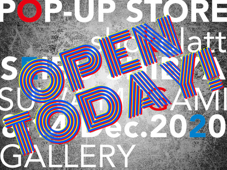 POP-UP STORE OPEN TODAY!!!