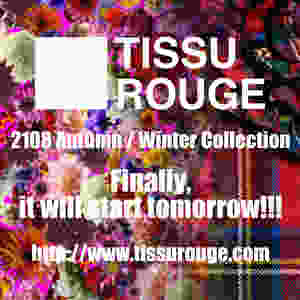 tissu rouge 2018 autumn/winter collection will start tomorrow