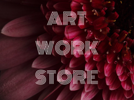 ART WORK STORE OPENED TODAY!!