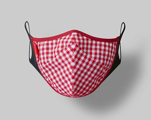 Masque de bonbon Red Gingham