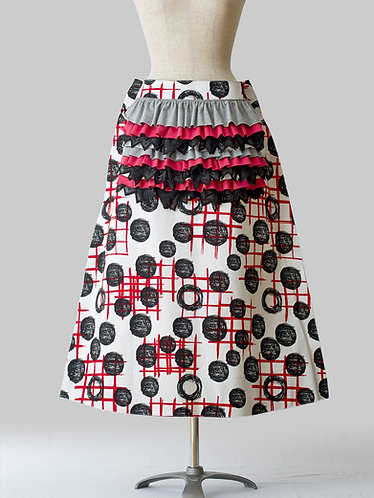 Inexact Frilled Skirt