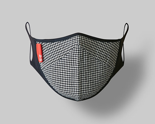 TRADITION MASK Houndstooth