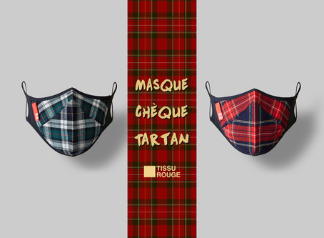 Masque Chèque Tartan Now Launched!!!