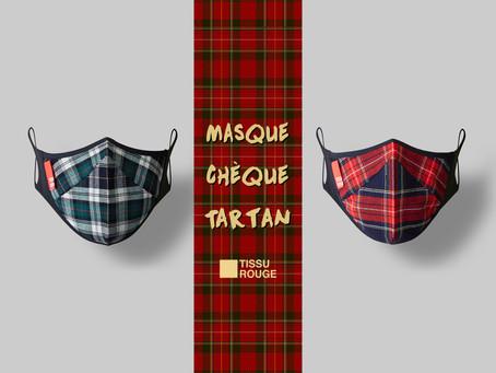 Masque Chèque Tartan Now Launched!!!
