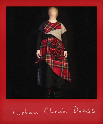Multi Check Dress