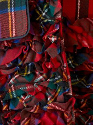 Stripe Red Coat