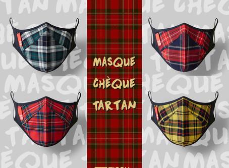 Masque Chèque Tartan Royalの違い