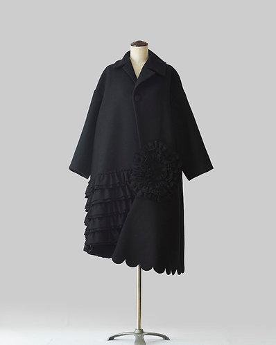 Wool Black Coat