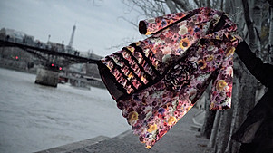 Bloom Print Coat