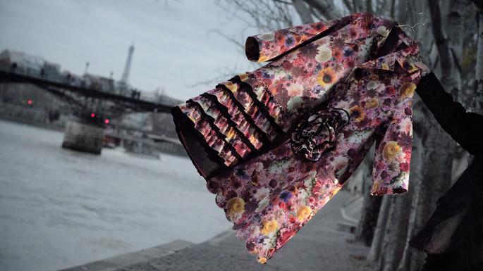 Bloom Print Coat