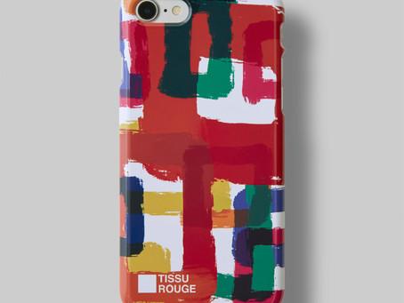 あなたのiPhoneでアートを表現!TISSU ROUGE iPhone Case のご紹介
