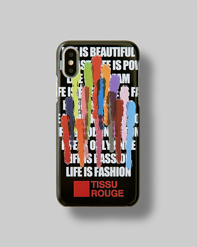 "iPhone CASE Ver.""LIFE IS FASHION"""