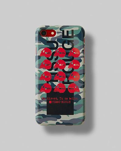 "iPhone CASE Ver.""Camouflage"" Khaki"