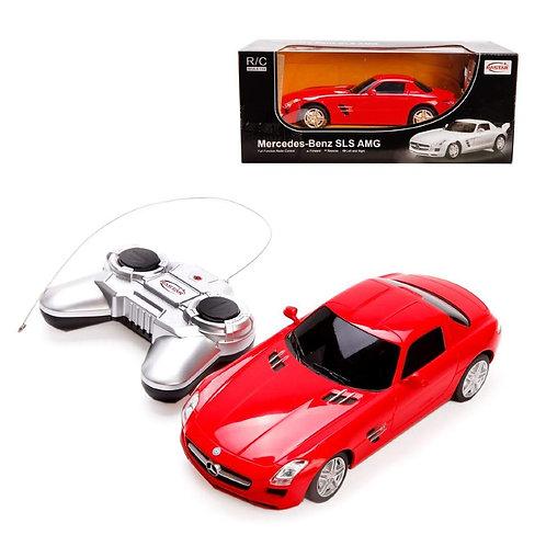 Машина р/у 1:24 Mercedes SLS AMG, 19см красный