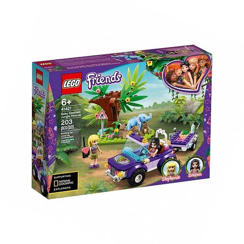 Конструктор LEGO Friends Джунгли: спасение слонёнка