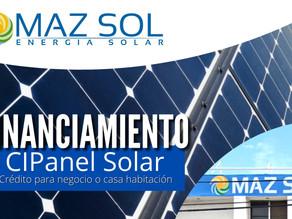 Crédito para negocio propio o casa habitación CIPanel Solar